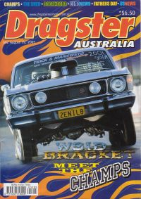 Dragster Australia article included Oztrack