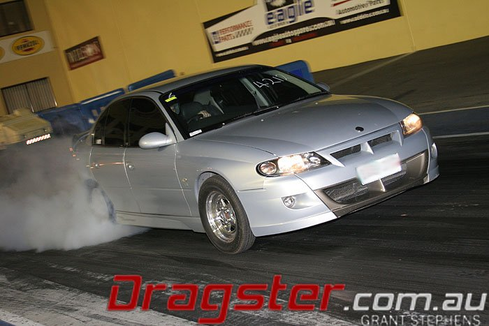 HSV Clubsport at Sydney Dragway